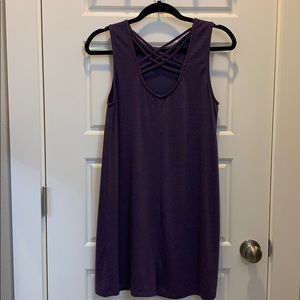 High Neck Mini Dress